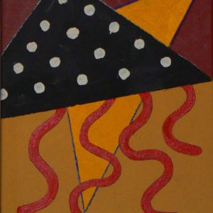 'Marenza' 2015 Oil on canvas 37 x 29cm by Brian Rice